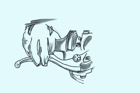 braking-lever