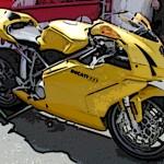 Ducati-yellow